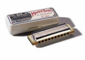 M1896076 Marine Band Classic Fis-major Губная гармошка, Hohner
